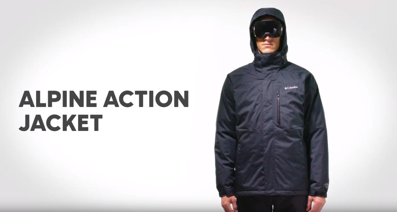 Alpine Action™ Skijacke für Herren